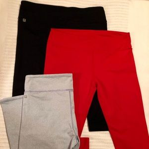 Fabletics Never worn! Black or Grey-stripe avail.